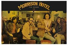 Jim Morrison & The Doors at Morrison Hotel Promo Poster 1967  19 X 13