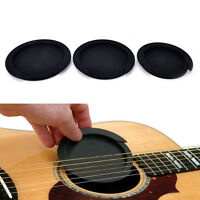 Silicone Guitar Feedback Buster Soundhole Cover Sound Buffer Hole Protector_ZT