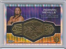 WWE Adrian Neville 2015 Topps Chrome PULSAR Belt Plate NXT Tag Relic Card /75