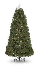 6ft Pre-Lit (360 W/White LED's & Globes) Noble Fir PE/PVC Christmas Tree