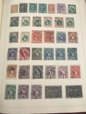 APPROXIMATE 110 STAMPS EARLY GUATEMALA 1875 AND UP USED UNUSED COLLECTION LOT