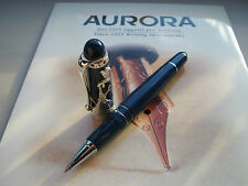 Aurora Torino 150 sterling silver limited production rollerball pen Mint
