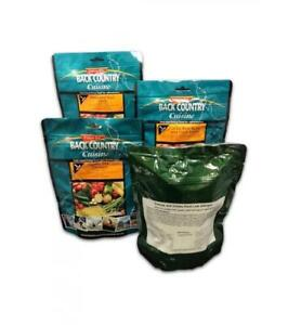 BackCountry No Worries 24h/3 Meal Ration Pack hiking camping-long use by dates