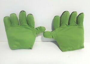 Boys Green Marvel Avengers Hulk Gloves Age 4-8 Years