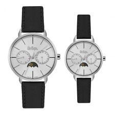 LeeCooper PartnerUhren LC064 d Armbanduhr für Sie & Ihn im Set Business-Design