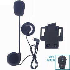 Freedconn FDC Hard Boom Headset Micphone Headphone Mic +Clip For Helmet Intercom