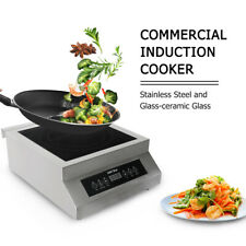 Fit Restaurant 5000W CE Electric Commercial Induction Cooker Countertop Burner