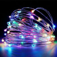 20M/200LED Solar Fairy String Lights Copper Wire Outdoor Party Xmas Garden Decor