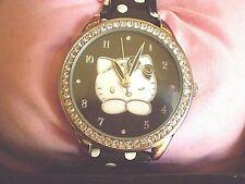 Hello Kitty - Camomilla - Diamante Designer Watch - Gift Boxed