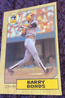 1987 O-Pee-Chee Barry Bonds ROOKIE RC #320 PSA 8.5 + Warranty Buy Back Program