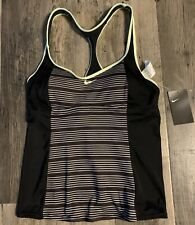 Nike Striped Tankini Swimsuit Top Size Adult Large