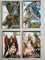 Mu The Lost Prophecy 1 2 3 4 Series A Variants DDP Set Series Run Lot 1-4 VF/NM