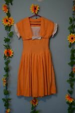 genuine vintage cute 50s dress with bolero