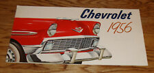 Original 1956 Chevrolet Full Line Deluxe Sales Brochure 56 Chevy Bel Air