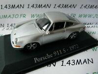 RBA13M voiture 1/43 RBA Italie IXO : PORSCHE 911 S 1972 grise