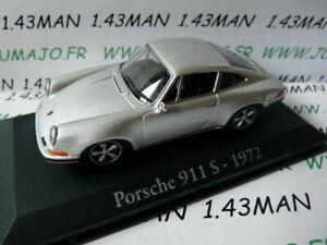 RBA13 voiture 1/43 RBA Italie IXO : PORSCHE 911 S 1972 grise