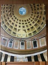 Original-One of Kind-Oil/Canvas Painting-The Pantheon- Signed-COA-Listed Art
