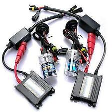 KIT FARI HD XENO XENON H7 H1 H3 H4-2 HB3 HB4 55W 6000K WATT DIGITALE BALLAST DS