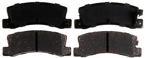Disc Brake Pad Set-Ceramic Disc Brake Pad Rear ACDelco Advantage 14D325CH