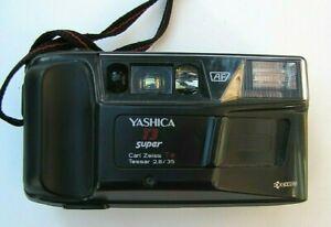 Yashica T 3 Super KB Kamera mit Carl Zeiss Tessar  2.8 / 35