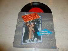 "THE BANGLES - Manic Monday - Scarce 1985 2-track UK 7"" Vinyl Single"