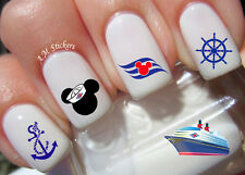 Disney Cruise Nail Art Stickers Transfers Decals Set of 35