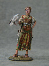 Roman girl with a bird. Elite tin soldiers St. Petersburg 54 mm.