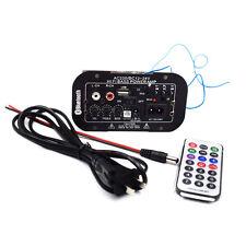 1PC 12V/24V/220V Bluetooth Subwoofer Hi-Fi Bass Power Amplifier TF USB Well Made