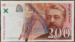 Billet de 200 francs Gustave EIFFEL 1996 FRANCE L022332374