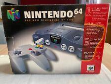Nintendo 64 komplett in OVP mit allen Kabeln  --  Zustand Sehr gut