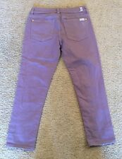 7 For All Mankind Josefina Skinny Boyfriend Jeans Capri Girls Size 10 NWOT New