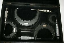 "Central Tools Micrometer Set, 0-4"" 4pcs USA"