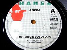 "ANEKA - OOH SHOOBY DOO DO LANG  7"" VINYL"