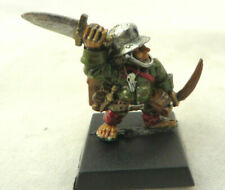 Mordheim Halfling Thief Hired Sword New In Blister  Rare Games Workshop Metal