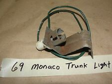 OEM 69 Dodge Monaco MOPAR VINTAGE TRUNK LIGHT WIRE HARNESS MOUNTING BRACKET