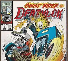 Deathlok #9 from Marvel's Agents of SHIELD from Mar. 1992 in VF+ condition