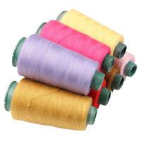Sewing Machine Polyester Overlocking Thread Cotton 2500yds spools machine / hand