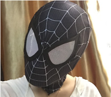 Amazing Spider-Man Mask Party Cosplay Black White 3D Digital Printing Face Mask