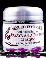 ANTI-AGING PAPAYA PINEAPPLE  ENZYME RENEWAL EXFOLIATING MASK 2OZ