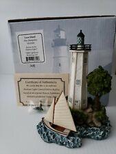 Harbour Lights Loon Island Nh #800 2008 Box & Coa New w/ Matching Miniature