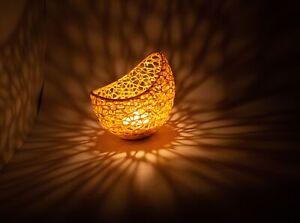 Poly Resin Tea Light Candle Holder LED Home Decor Contemporary Art Decore