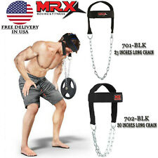 Head Harness. Neck Exercise Head Strap for Weight Lifting Gym & Fitness Training