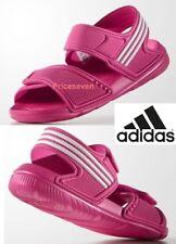 Kids's adidas Performance Akwah 9 K Velcro Sandals in Pink UK 1 / EU 33