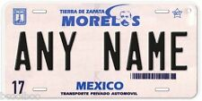 Michoacan Mexico Any Name Number Novelty Auto Car License Plate C02