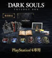 Pre PSL - PS4 DARK SOULS TRILOGY BOX Limited Japanese Ver Senior Knight EMS FREE