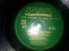 """Pioneers Of Boogie Woogie 10"""" AL 3506 London UK"""