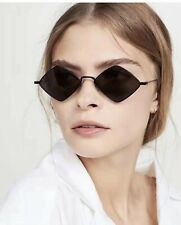 LE Skinny Steampunk Small Square Vampire Sunglasses Tiny Gothic Narrow Glasses