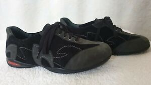SIZE-39, Ziera Black Leather Casual Shoes.