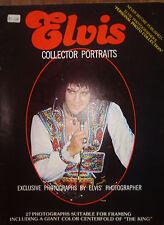 RARE MAGAZINE 100% PHOTOS ELVIS PRESLEY- COLLECTOR PORTRAIT - LIVE 1975-1977