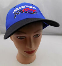 Snap-On Racing Hat Blue Stitched Snapback Baseball Cap Pre-Owned ST142